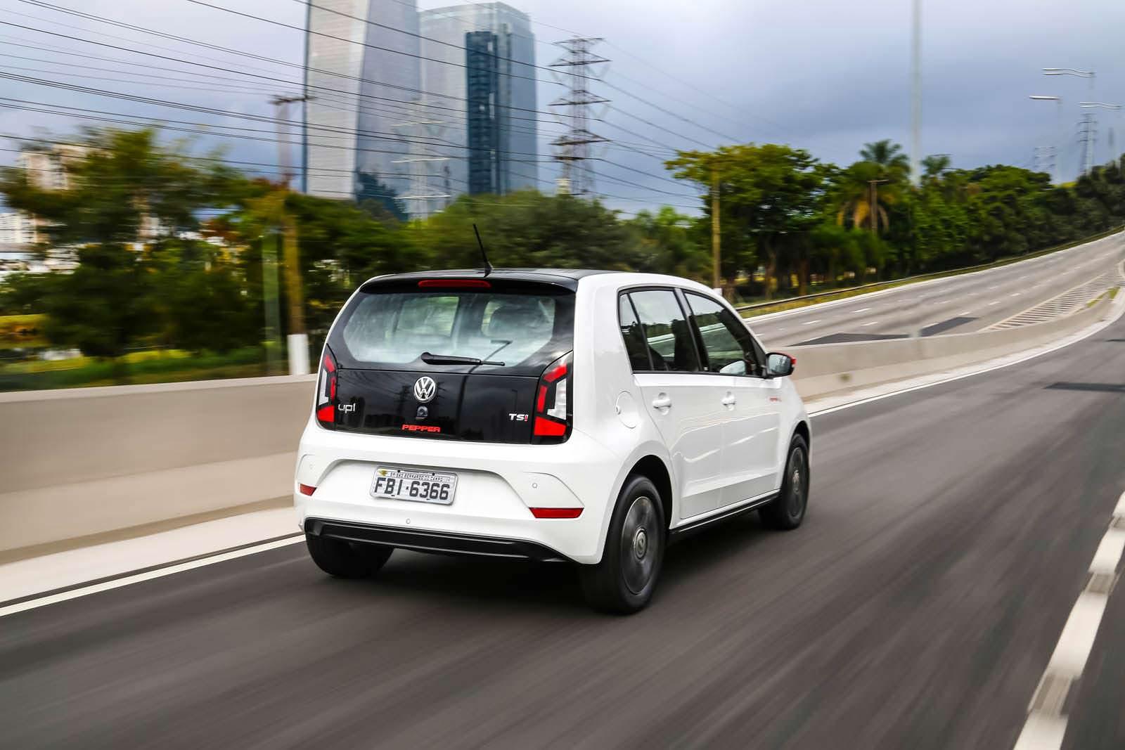 Volkswagen up! Pepper для Бразилии