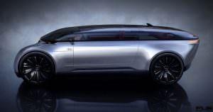 Виртуальный концепт Audi E-Tron Imperator из 2028 года