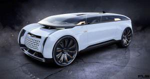 Виртуальная Audi E-Tron Imperator из 2028 года