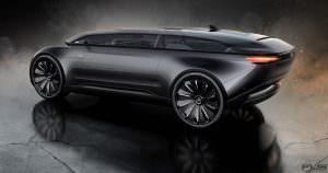 Электромобиль с автопилотом Audi E-Tron Imperator из 2028 года