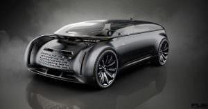 Электромобиль Audi E-Tron Imperator из 2028 года