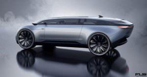 Неофициальный концепт Audi E-Tron Imperator