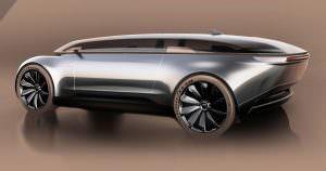 Audi E-Tron Imperator в честь Audi Type R Imperator