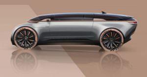 Фантастическая Audi E-Tron Imperator из 2028 года