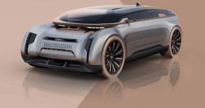 Фантастический концепт Audi E-Tron Imperator