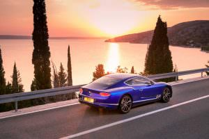 2018 Bentley Continental GT на платформе MSB от Panamera