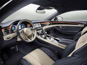 Интерьер Bentley Continental GT 2018