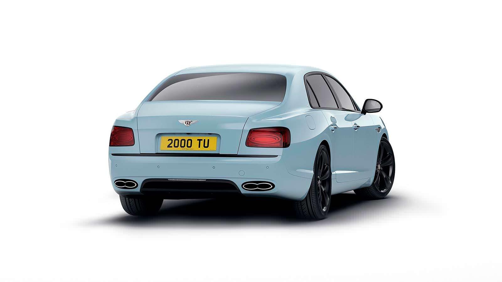 Спецверсия Bentley Flying Spur V8 S Black Edition