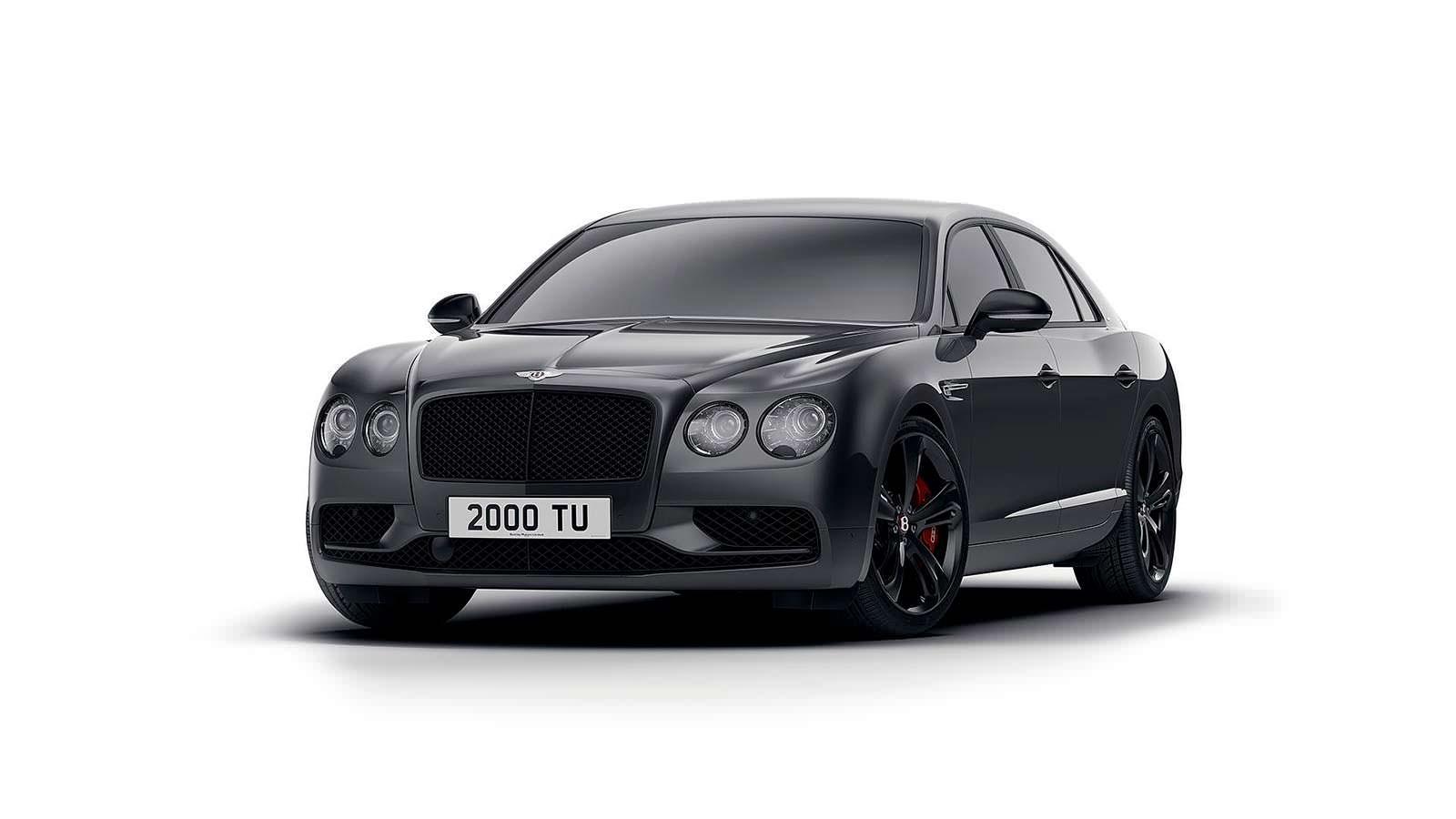 Новый Bentley Flying Spur V8 S Black Edition