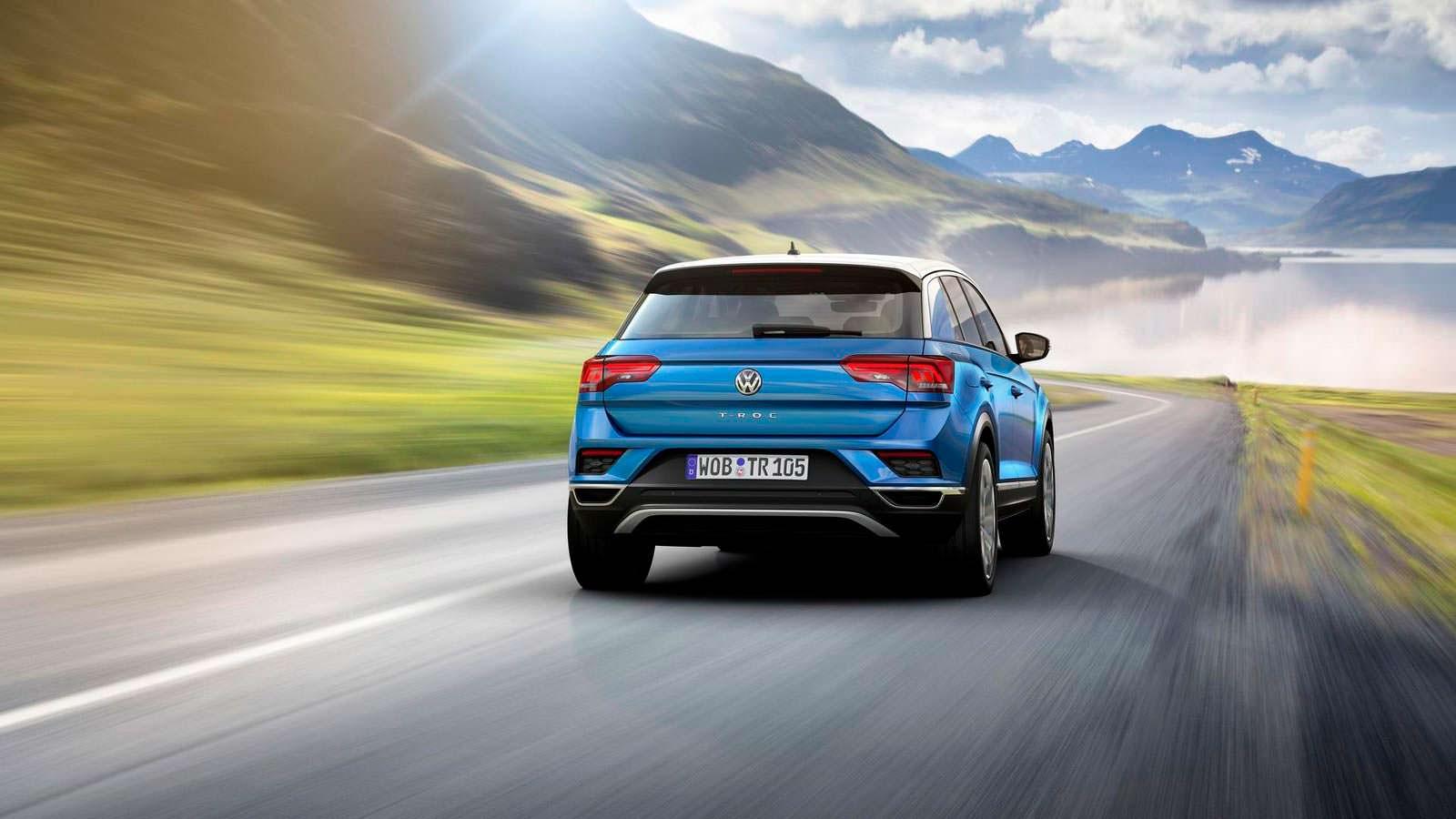 Кроссовер Volkswagen T-Roc 2018