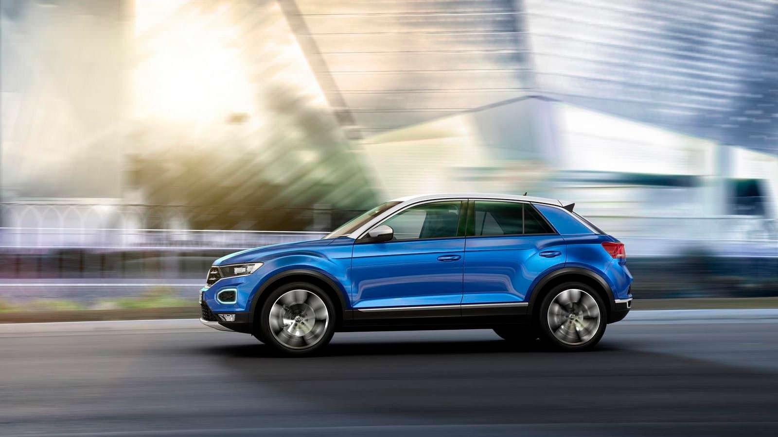 Маленький кроссовер Volkswagen T-Roc