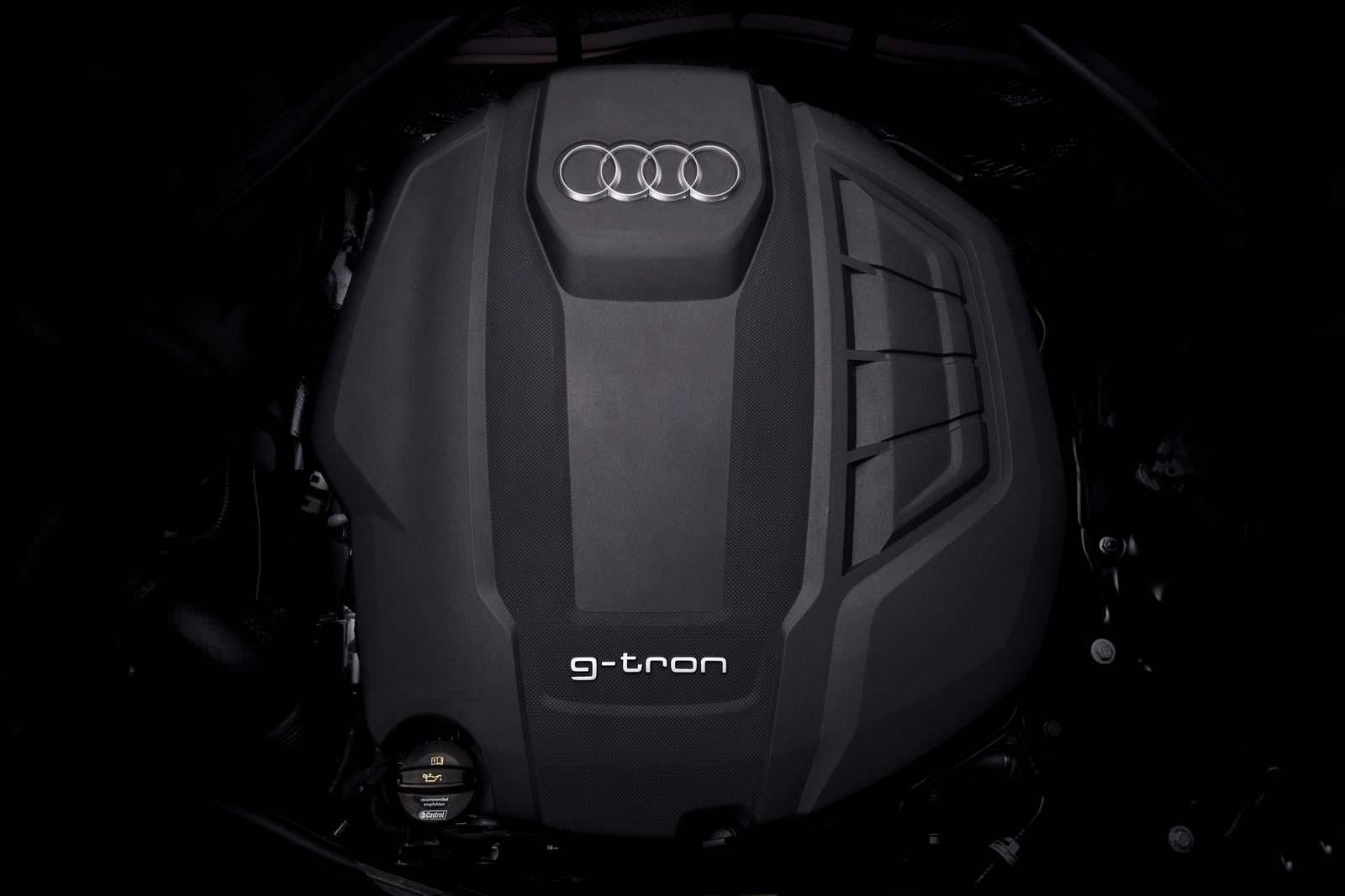 Двигатель 2.0 TFSI на газу под капотом Audi A4 Avant G-Tron