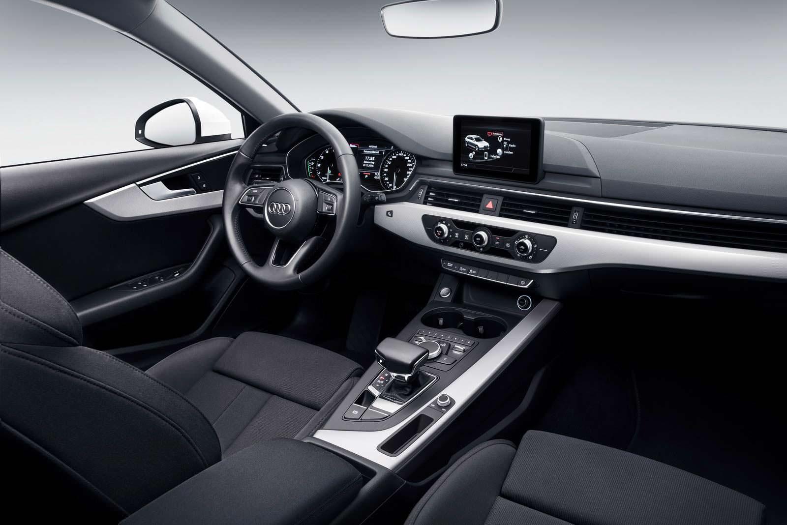 Кожаный салон Audi A5 Sportback G-Tron 2018