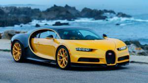 Первый Bugatti Chiron в США