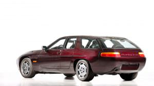 Четырехдверная Porsche 928. Единственный прототип