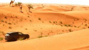 Прототип Porsche Cayenne. Экстремальные испытания в пустыне