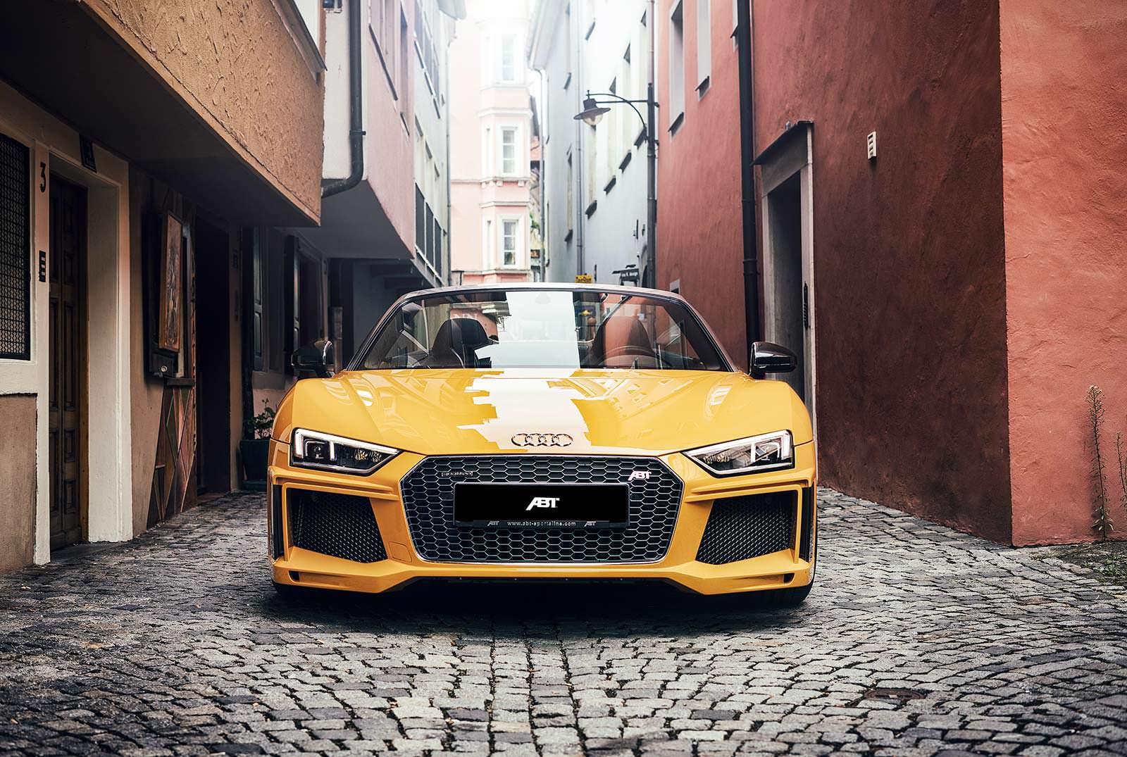 Родстер Audi R8 Spyder V10 Plus. Тюнинг от ABT Sportsline