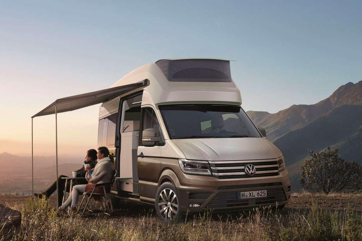 Двухэтажный кемпер Volkswagen California XXL