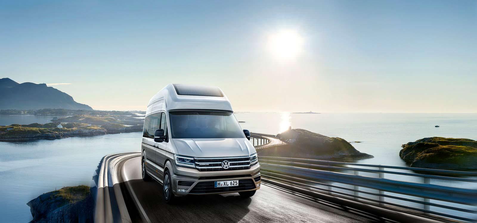 Большой кемпер Volkswagen California XXL Concept