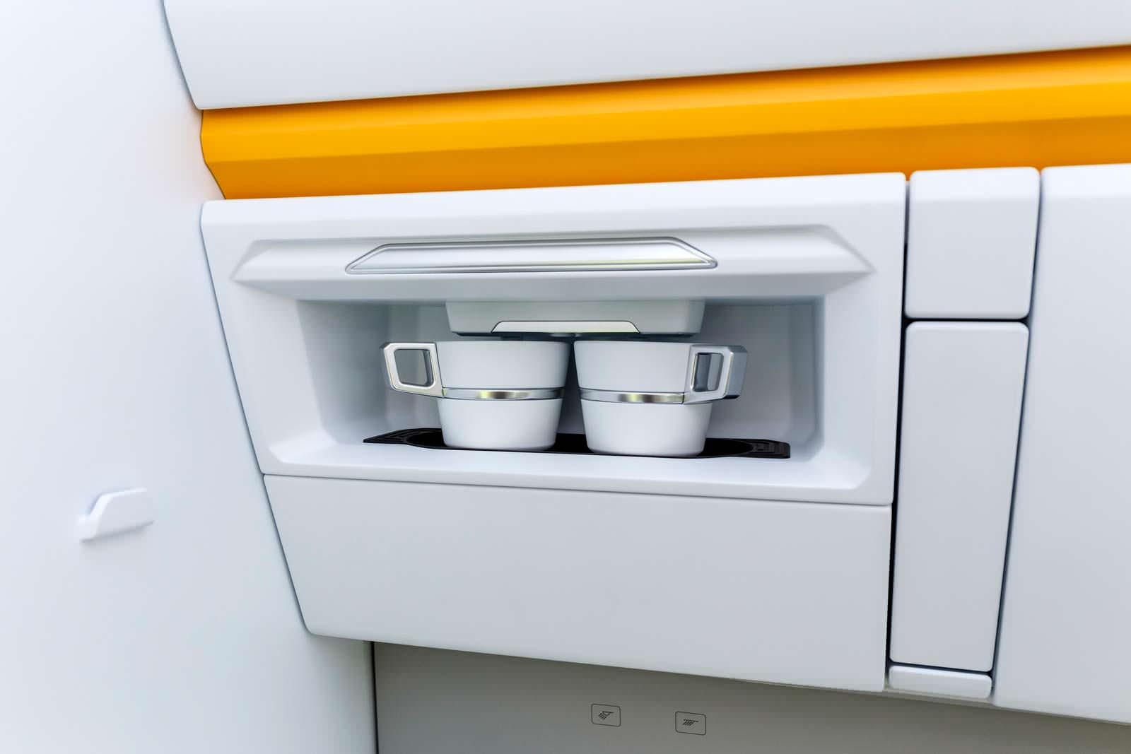 VW California XXL: кофемашина в салоне кемпера