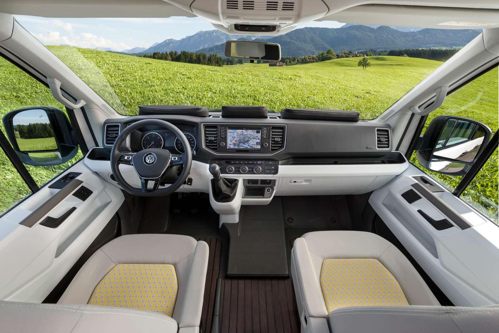 Фото салона кемпера VW California XXL
