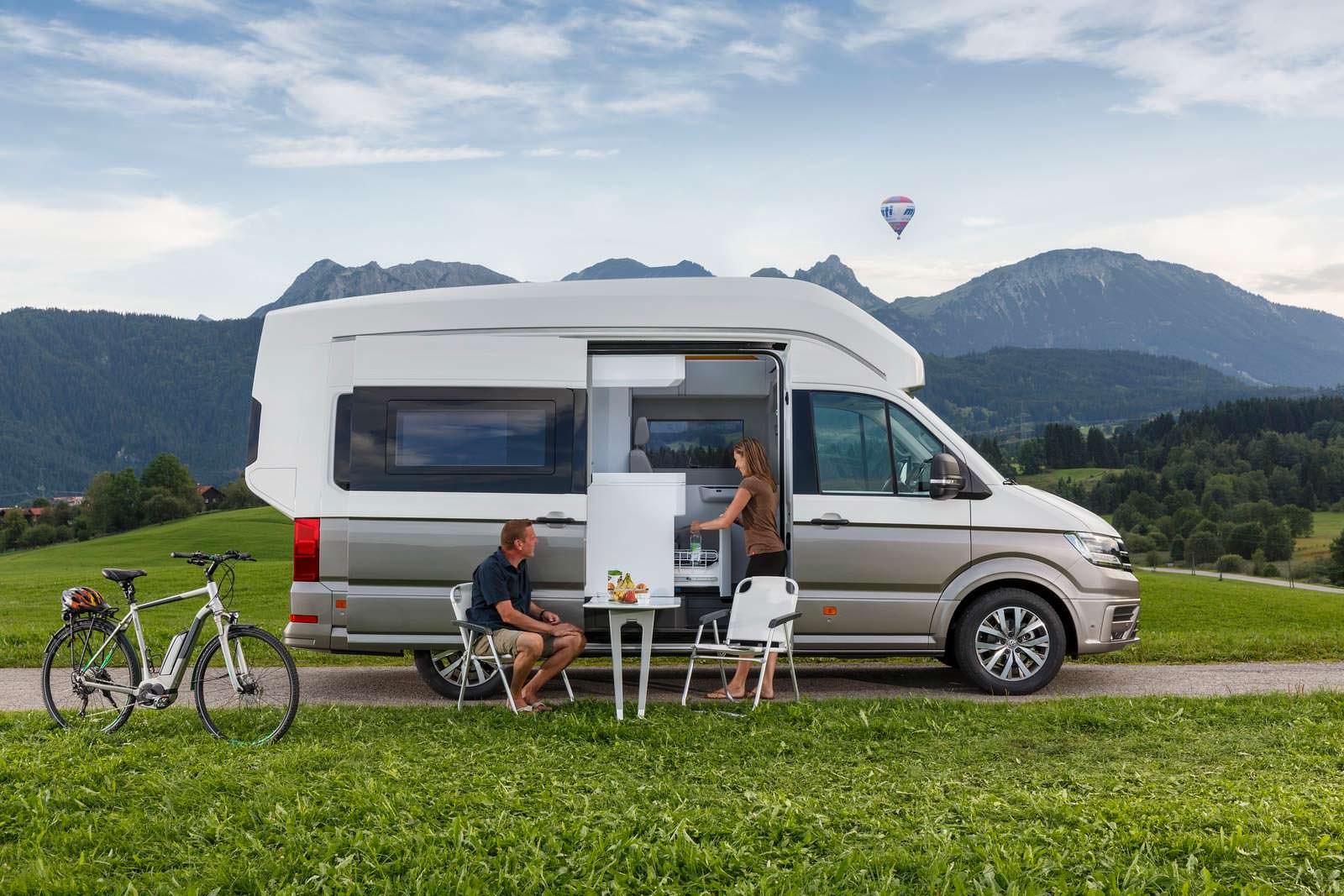 Полноприводный дом на колесах VW California XXL