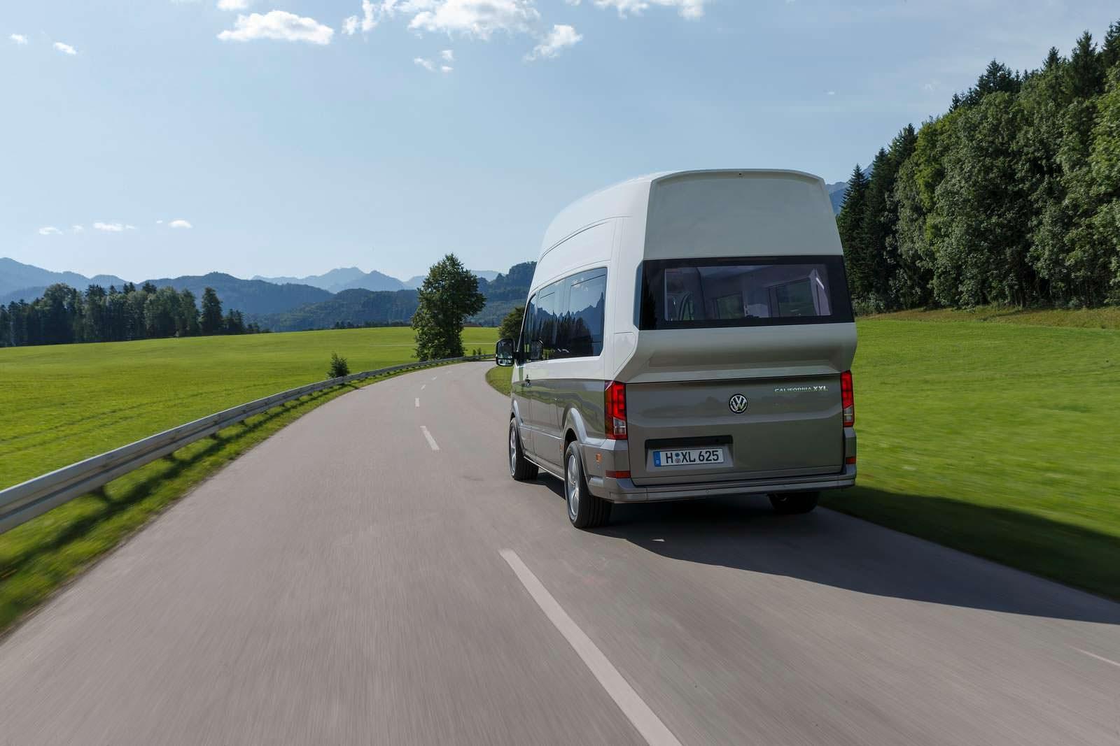 Большой кемпер VW California XXL с 4Motion