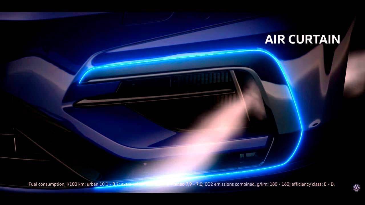 Оптимизированные воздухозаборники Performance Pack для VW Golf R