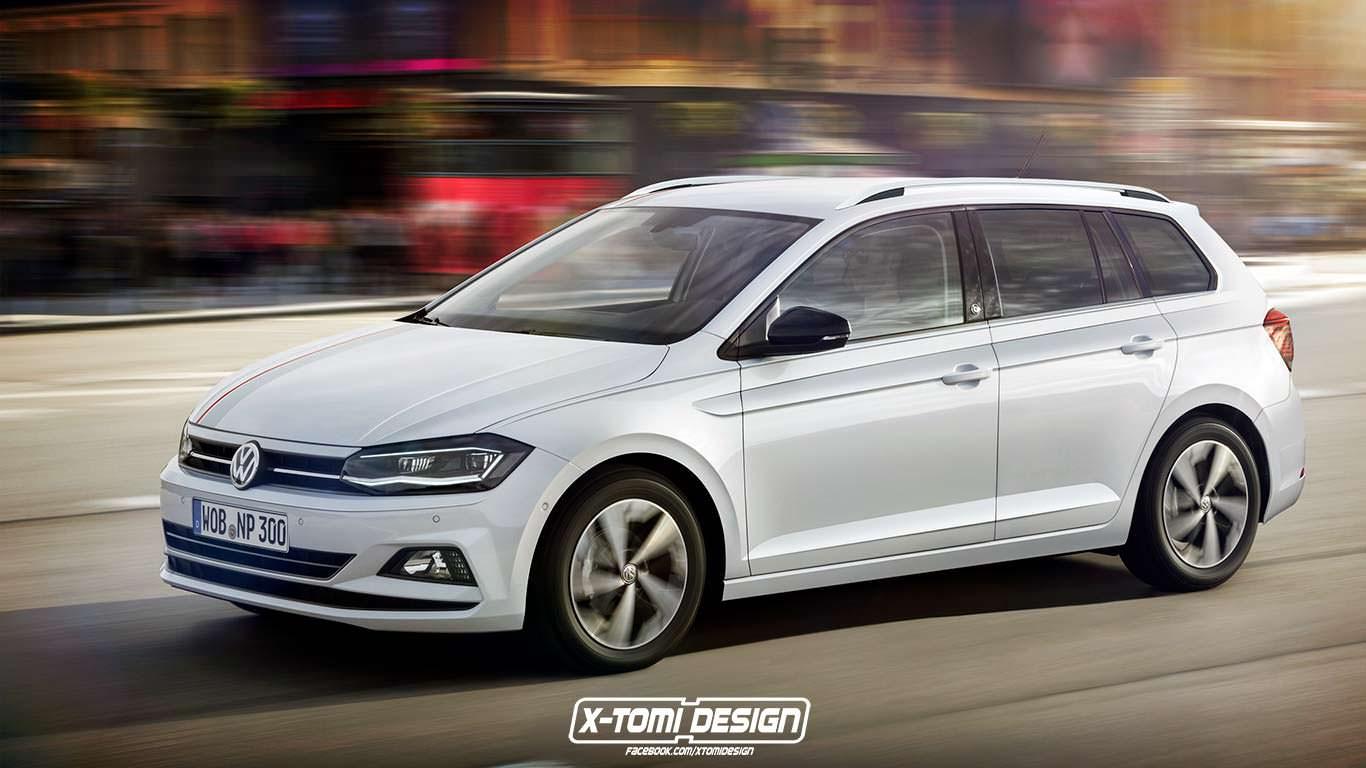 Универсал Volkswagen Polo Variant 2018 от X-Tomi Design