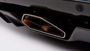 Выхлопное сопло Lamborghini Aventador S Roadster