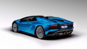 Новый Lamborghini Aventador S Roadster