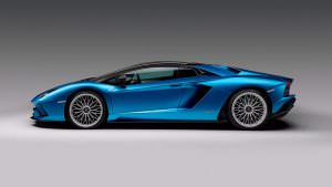 Lamborghini Aventador S Roadster со съемным верхом