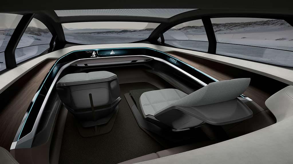 Роскошный интерьер Audi Aicon Concept