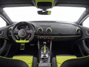 Фото салона Audi RS3 от Neidfaktor