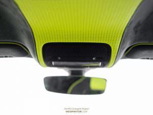Кастомная отделка салона Audi RS3. Проект Neidfaktor
