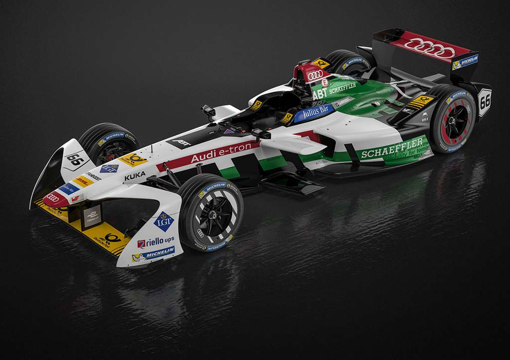 Audi E-Tron FE04: новый болид для Formula E
