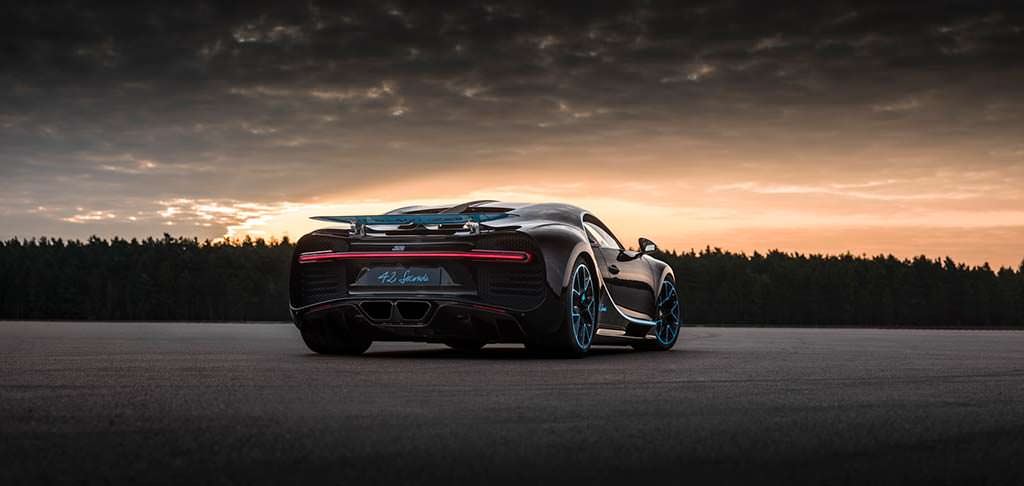 Единственный Bugatti Chiron 42 Seconds