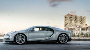 В Германии продано 45 Bugatti Chiron