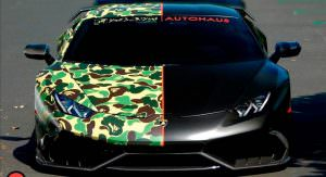 Закамуфлированный Lamborghini Huracan