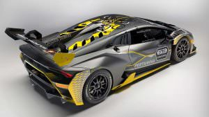Гоночный суперкар Lamborghini Huracan Super Trofeo Evo