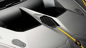 Воздухозаборник капота Lamborghini Huracan Super Trofeo Evo