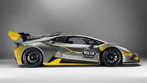 Трековый суперкар Lamborghini Huracan Super Trofeo Evo