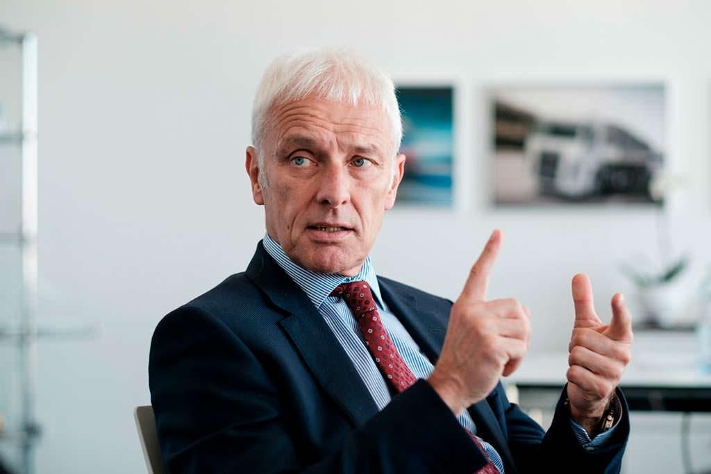 Маттиас Мюллер - новый гендиректор Volkswagen Group