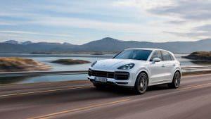 Новый Porsche Cayenne Turbo 2018