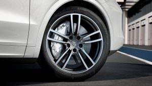 Новые тормоза PSCB в Porsche Cayenne Turbo 2018
