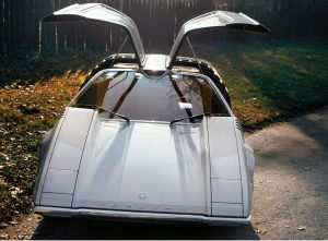 Porsche Tapiro с крыльями-чайки