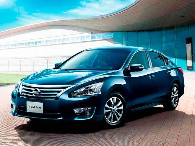 Седан Nissan Teana от Dongfeng