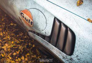 Эффект состаривания краски Porsche 911 GT3 RS от Neidfaktor