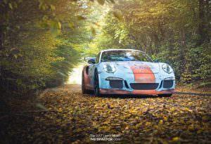 Porsche 911 GT3 RS: суперкар с эффектом ржавчины