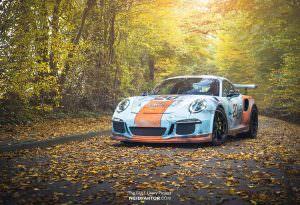 Porsche 911 GT3 RS в ржавой ливрее Gulf Racing
